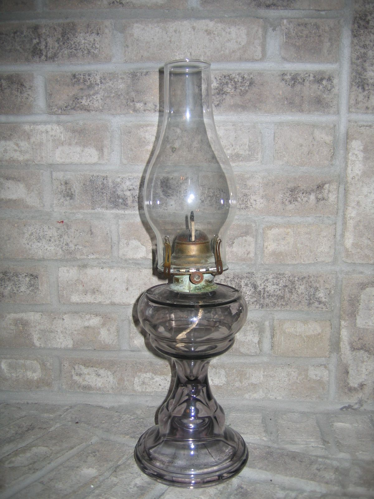 Antique Glassware | Antique Vintage Queen Anne No. 2 Light Purple ...