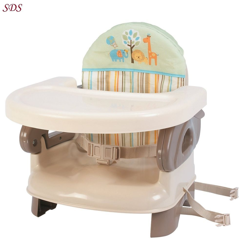 Folding Booster Seat Tan Summer Infant Comfort Baby High Chair