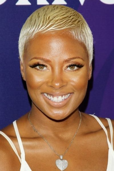 African American Celebrities Who Wear Blonde Hair Well Blonde Hair Pictures Super Short Hair Celebrity Hairstyles