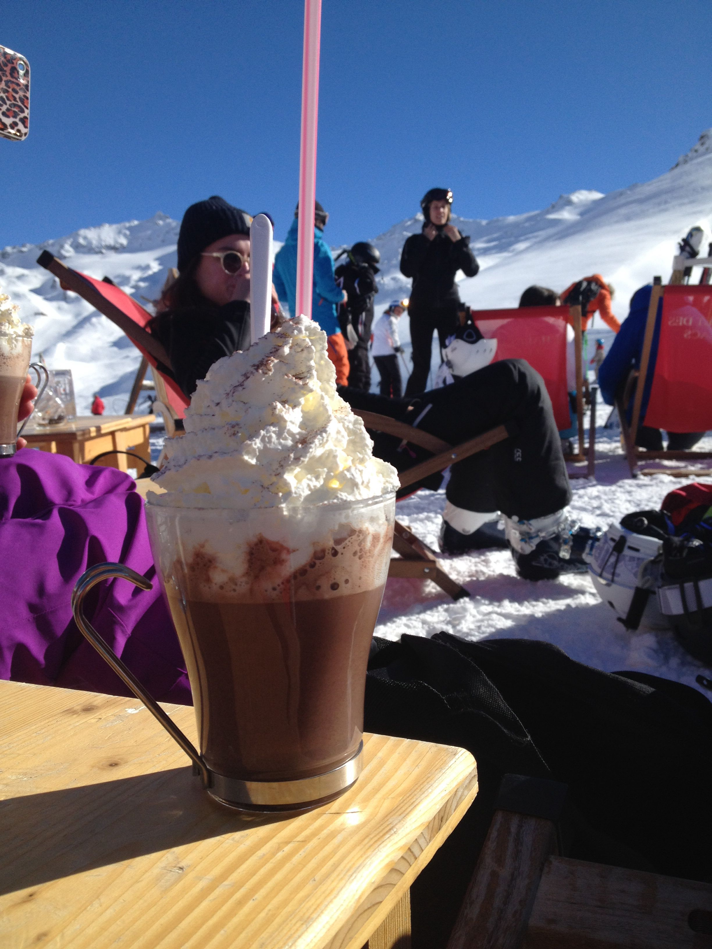 Val Thorens hot chocolate 2013!!