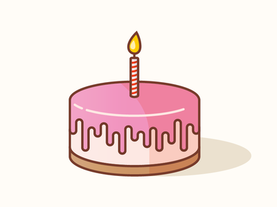 Birthday Cake Cake Logo Pinterest Cake Birthday And Cake Icon
