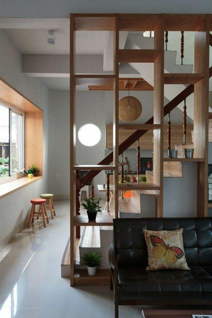 ▷ 1001+ Idées pour la séparation chambre salon + des intérieurs - rangement salle a manger