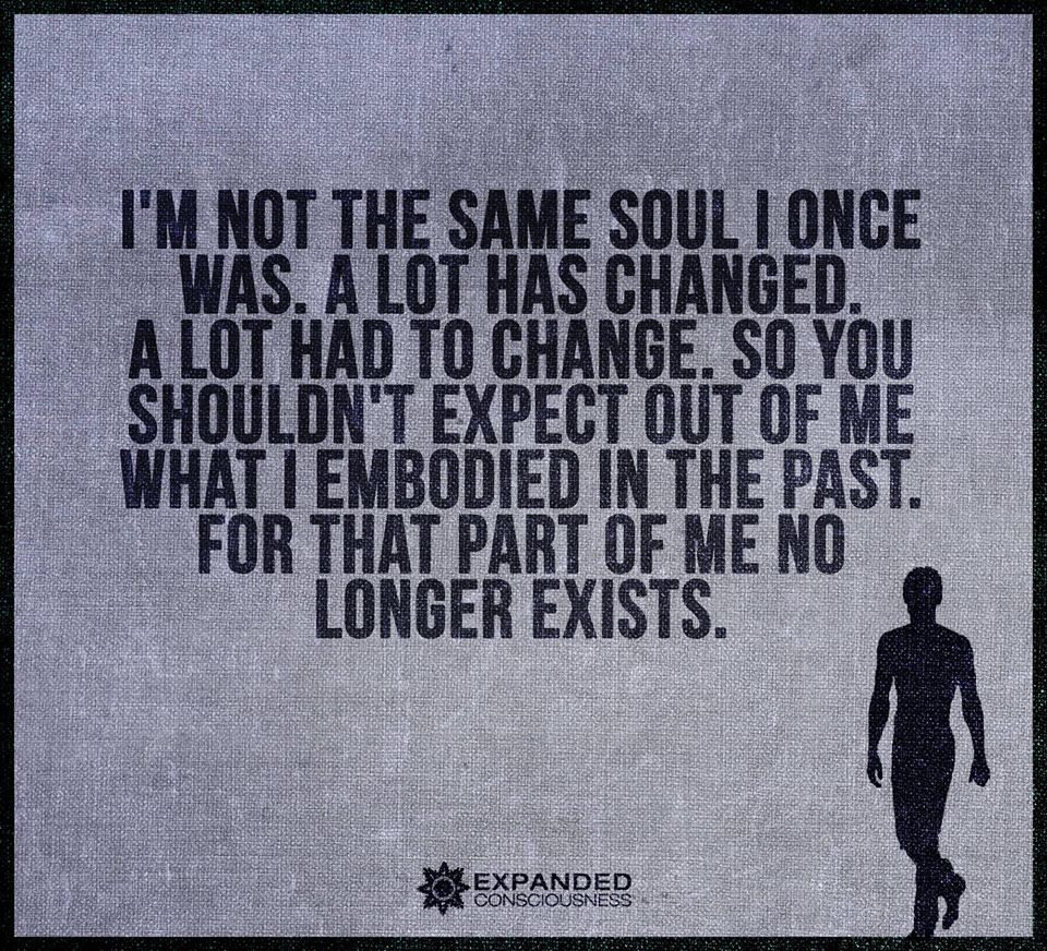 Im Not The Same Soul Once Was A Lot Has Changed A Lot -2834