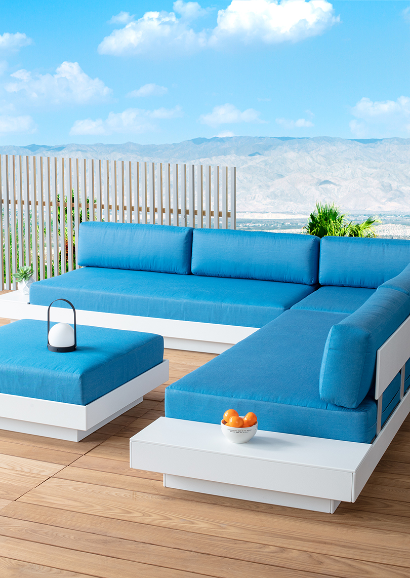 Loll Designs Has Two New Outdoor Collections That Feature Recycled Plastic Design Milk In 2020 Loll Designs Loll Furniture Sunbrella Fabric Cushions