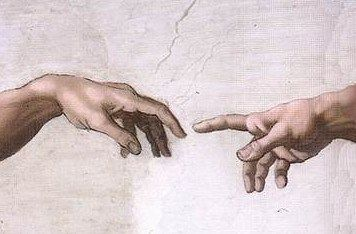 Hands of God and Adam (With images) | Sistine chapel, Sistine ...