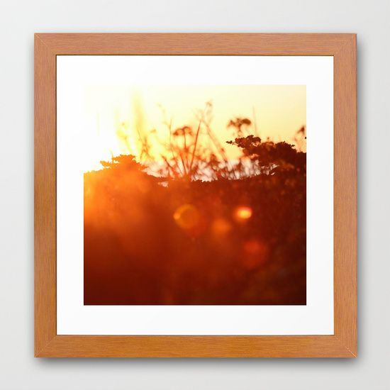 sunset dream Framed Art Print 12 X 12 $38
