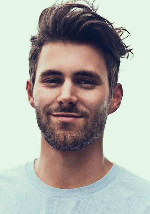 Cortes de cabello hombre con barba 2015