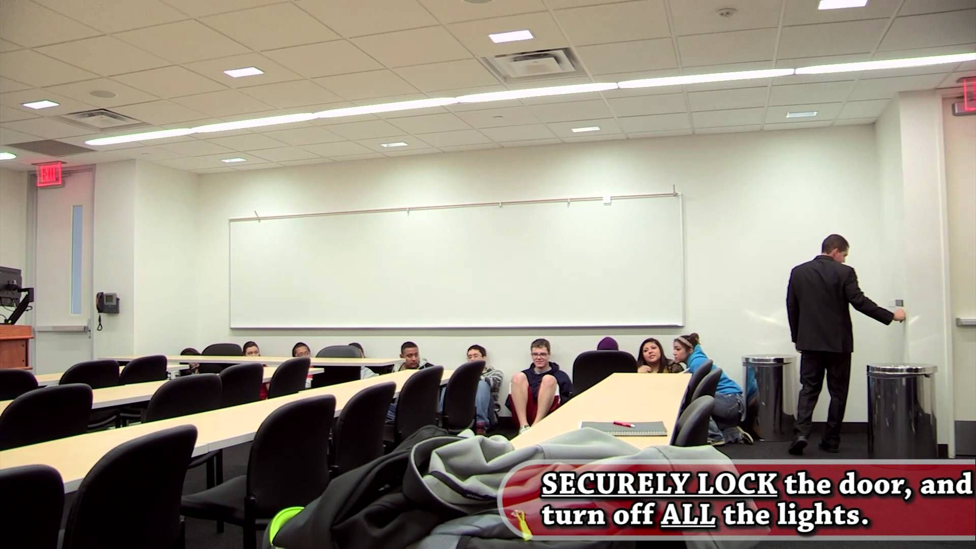 Lone star safety video lonely home decor conference room