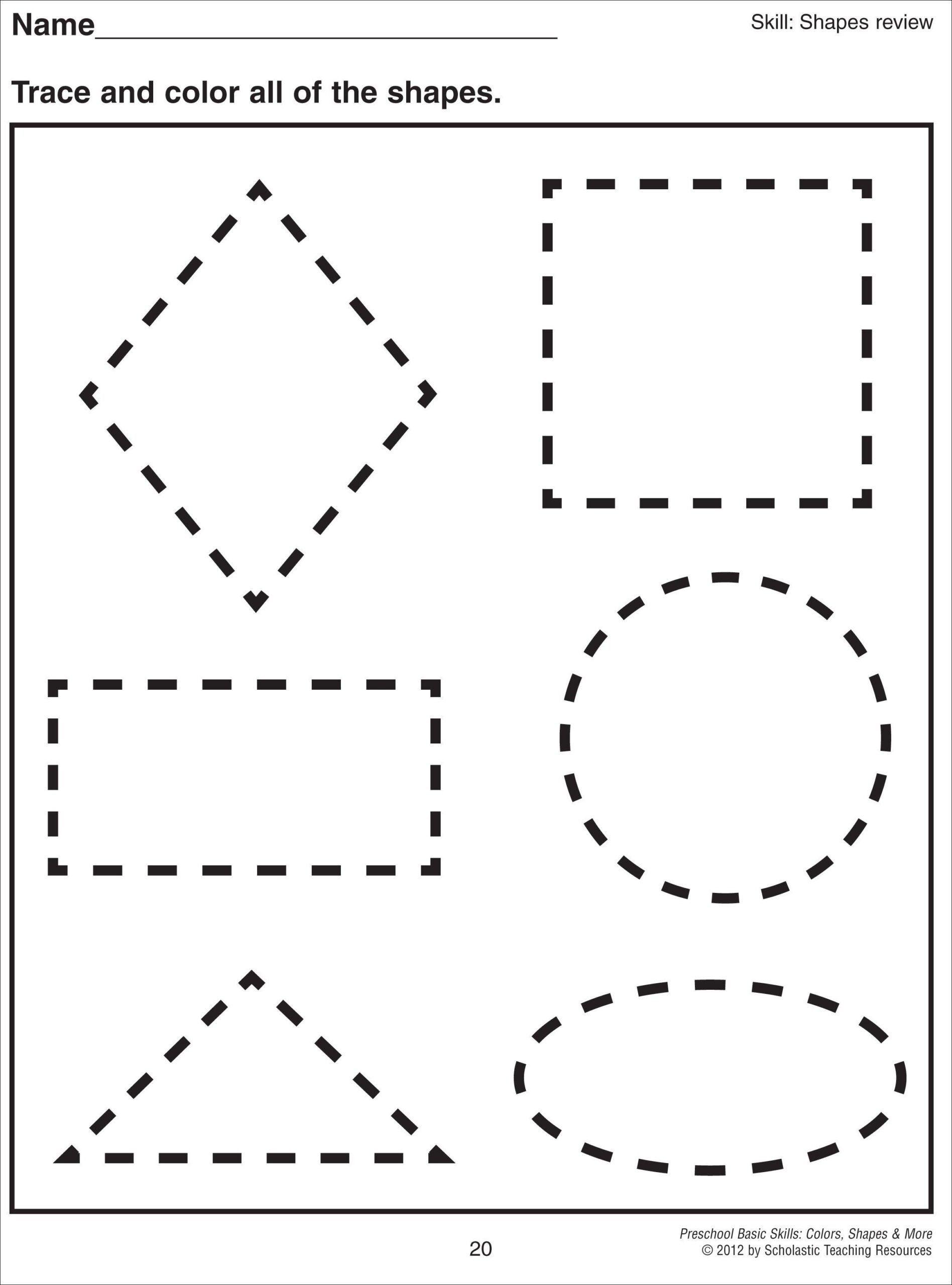 Kindergarten 3d Shapes Worksheet Colors And Shapes
