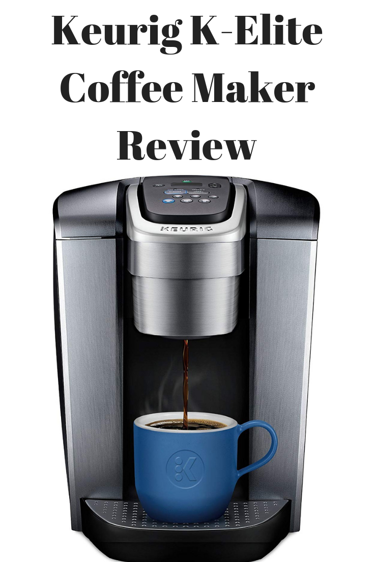 Keurig K Elite Single Serve K Cup Pod Coffee Maker Review Pod