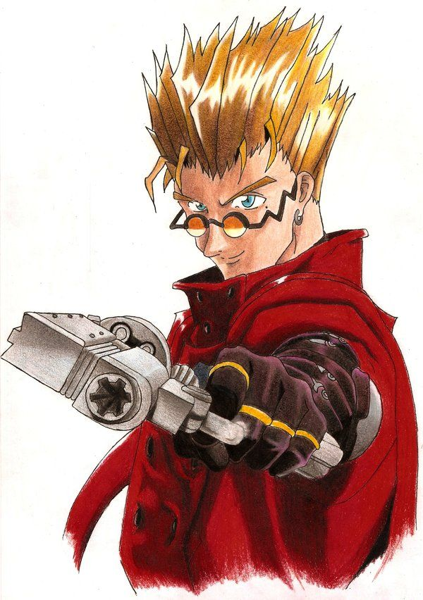 Trigun Vash The Stampede Coat Trigun Stampede Outfit Animation