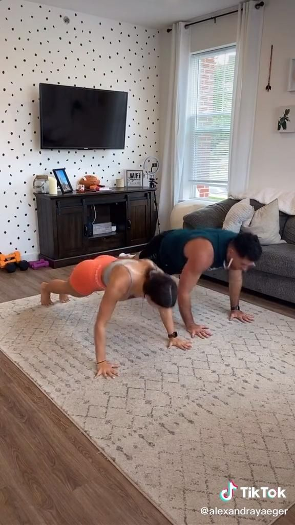 Couple's fitness challenge