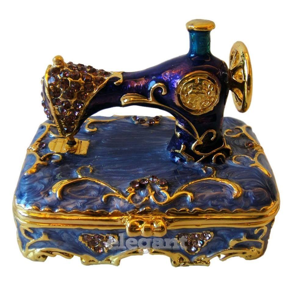 Pin By Sefora Heringer On Little Trinket Box Sewing Machine Antique Sewing Machines Trinket Boxes