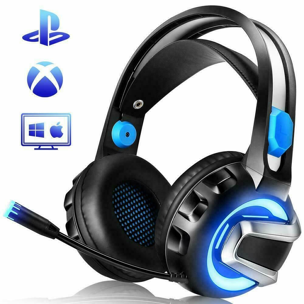 Nicewell Gaming Headset For Xbox One Ps4 Pc Gaming Headphones With Microphone Gaming Headphones Ideas Best Gaming Headset Gaming Headphones Gaming Headset