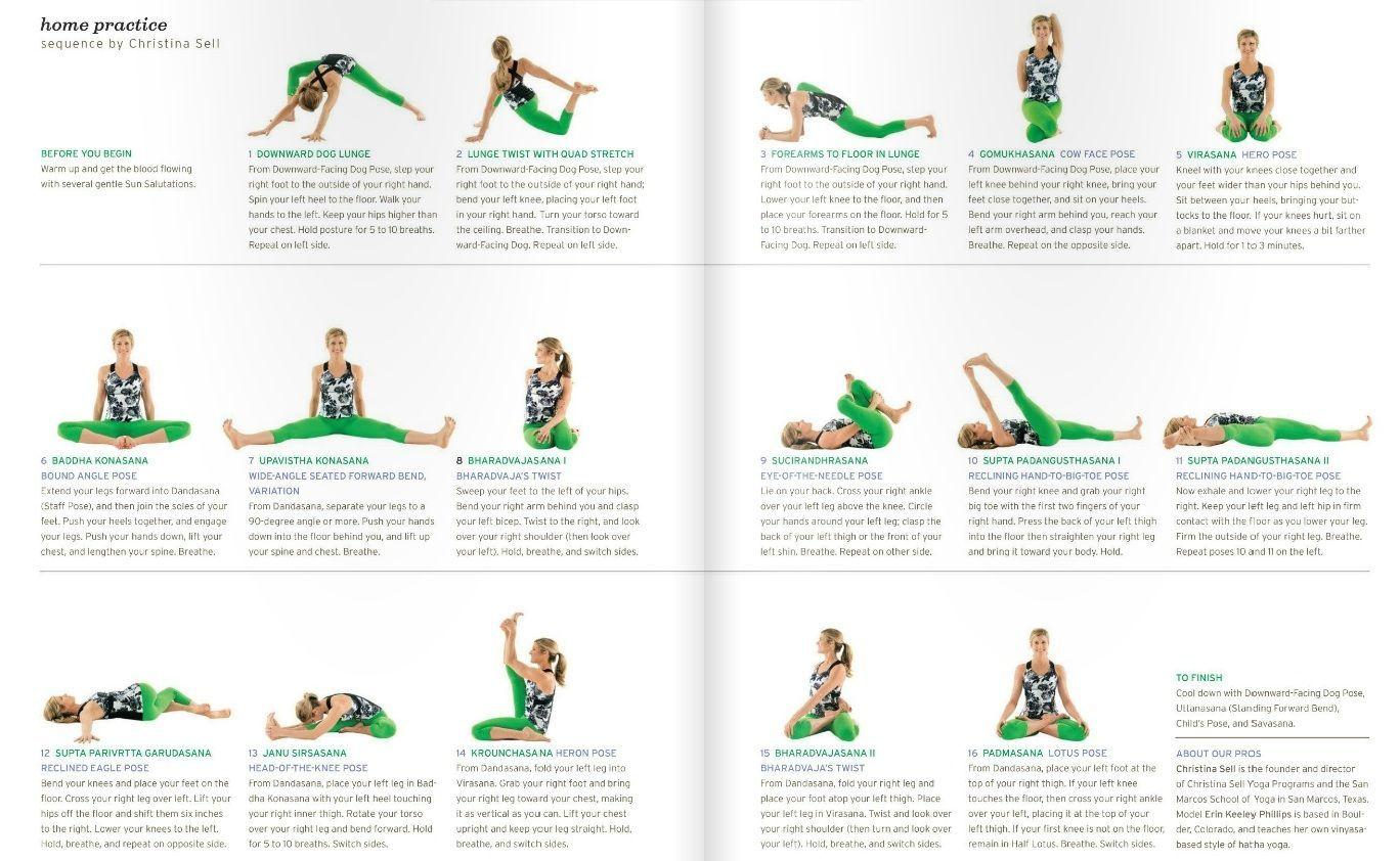 Yoga Journal Sequence Google Search Yoga Sequences Yoga Chart Yoga Journal