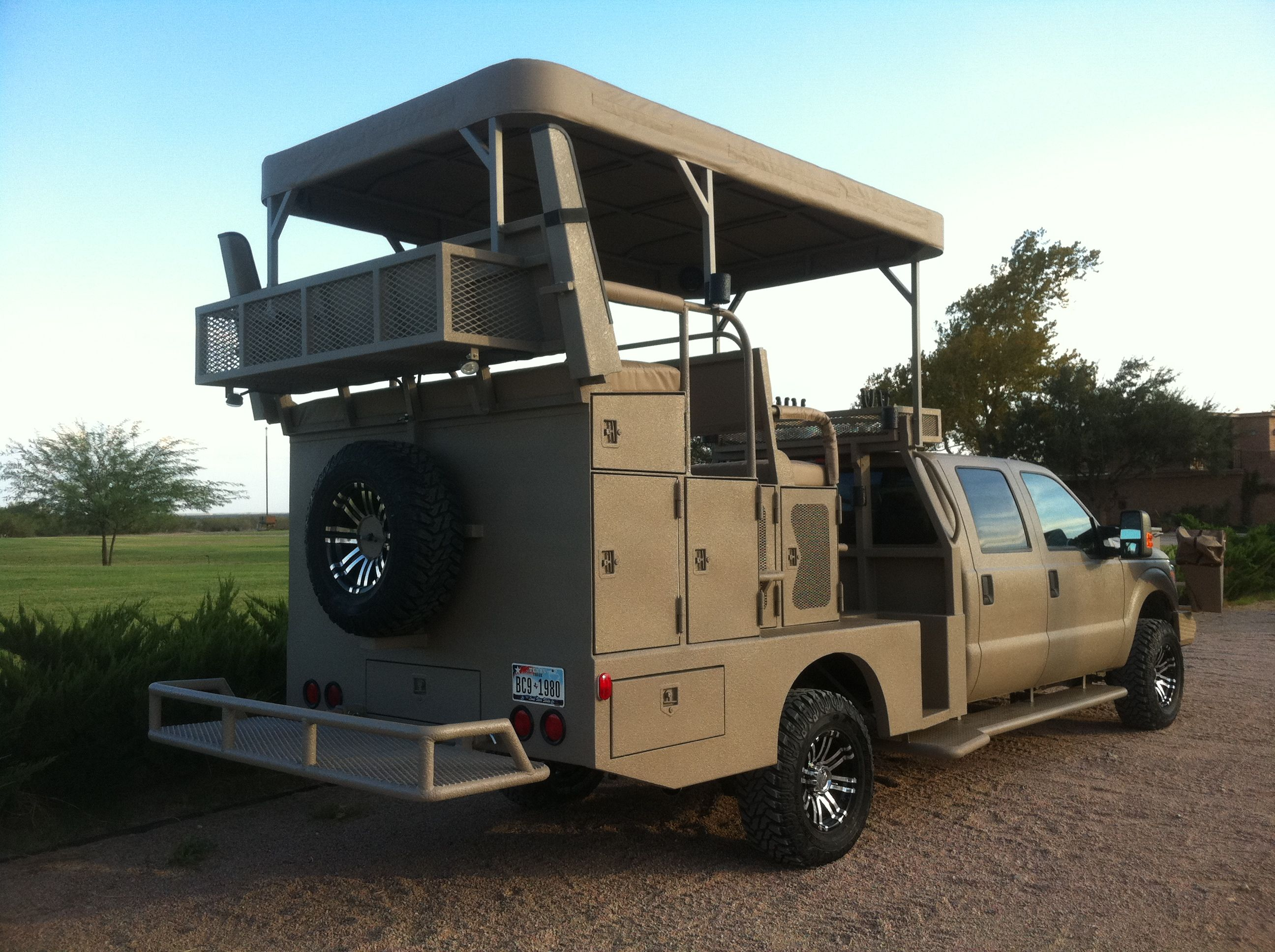 Awesome quail hunting rig to use on the mesa vista ranch http