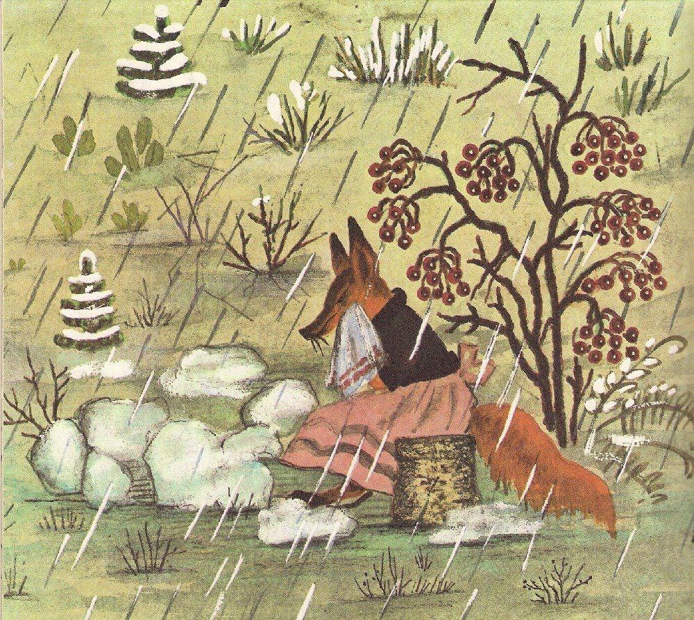 сказка лиса и заяц иллюстрации к сказке васнецова разрешаю загружать игры