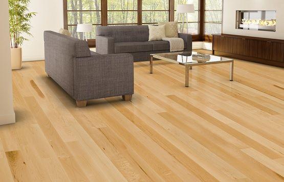 Natural Light Wood Floor Colors Living Room Maple Hardwood