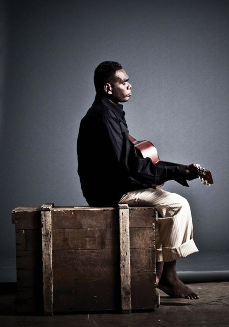 Born blind, GEOFFREY GURRUMUL YUNUPINGU grew up as a member of the Gumatj clan on Elcho Island off the coast of N.E. Arnhem Land. His fragile but powerfully emotive voice has affected the public in a way no other artist has done in this country. This unique Aboriginal man sings about identity, spirit & connection with the land, its elements and the ancestral beings he is related to. His high tenor voice and aura-like persona creates emotion, compassion and feelings of nostalgia and longing.
