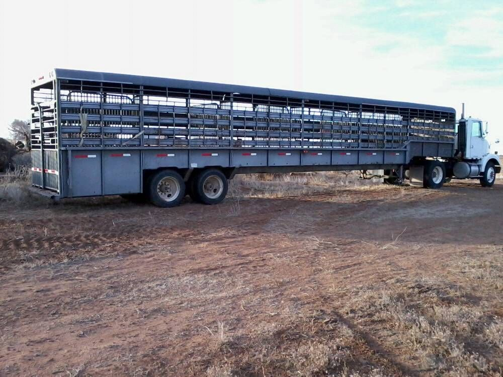 Ground Load Livestock Trailer Misc Farm Life