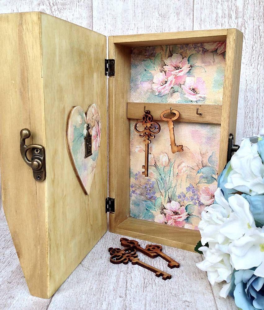 Krabičky - Skrinka na kľúče a poštu - 6336064_