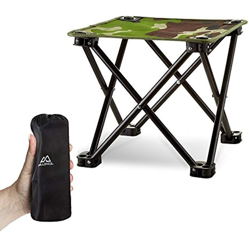 Portable Stool Folding Camping Stool Mini Portable Chair For Beach Picnic