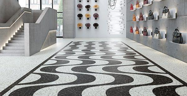 vinylov podlaha z dlc expona commercial ernobl mozaika expona commercial vinyl flooring