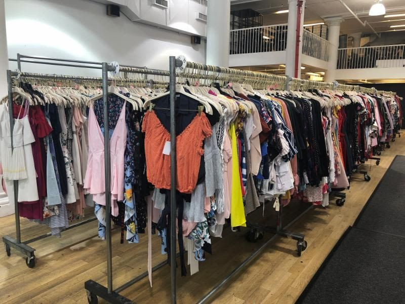 Rent The Runway Sample Sale from @renttherunway! #newyork