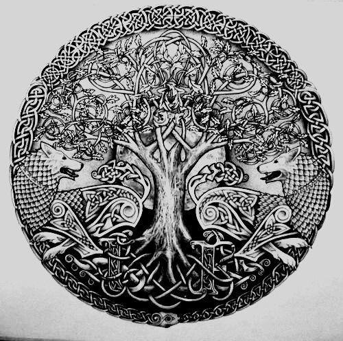 Nordic Tree Of Life Tattoos Tree Of Life Tattoos Celtic