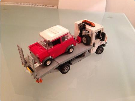 Mini Cooper At Minifig Scale I Want Instructions Lego