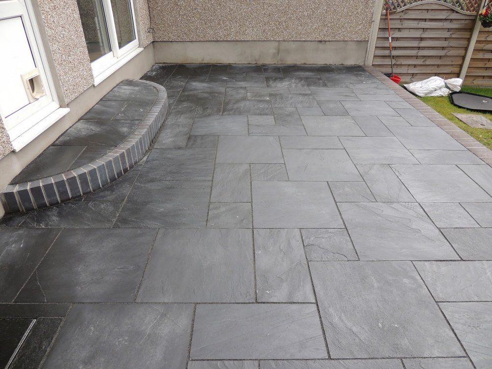 Slate Patios Pictures 5 Jpg 1000 750 Slate Patio Patio Flooring Patio Tiles