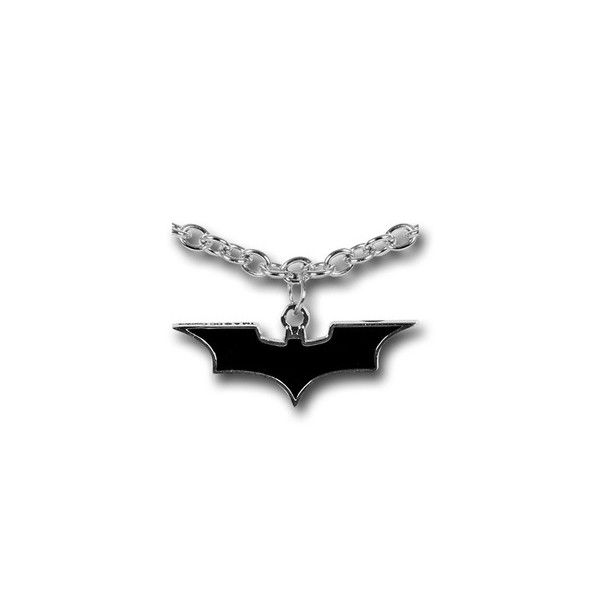 Batman Dark Knight Symbol Necklace Liked On Polyvore Featuring
