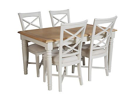 hartham extending dining table & 4 chairs | dining room