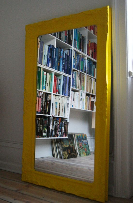 yellow mirror  Cool Color Combi Interiors  Aesthetic