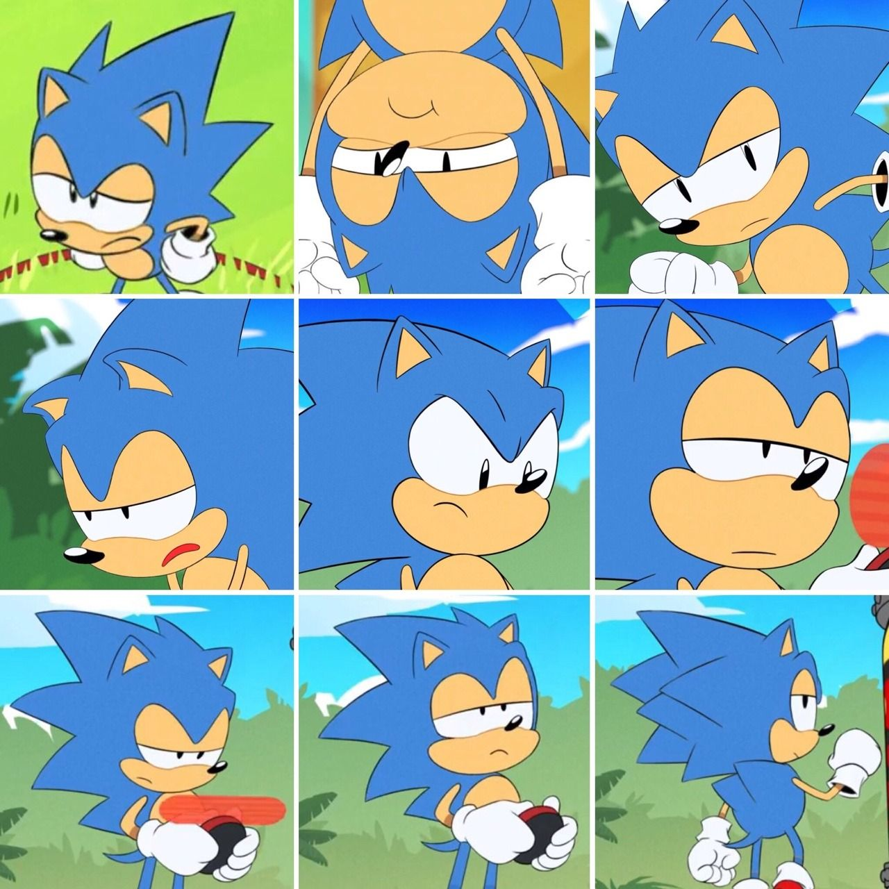 The Faces Sonic Funny Sonic The Hedgehog Sonic