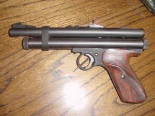 CHAPCHUR 50cal  Co2, tranquilizer dart pistol - Picture 2 | Weapons