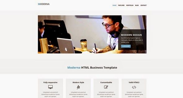Free Website Templates Html Free Responsive Css3 And Html5 Website Templates  Web Development
