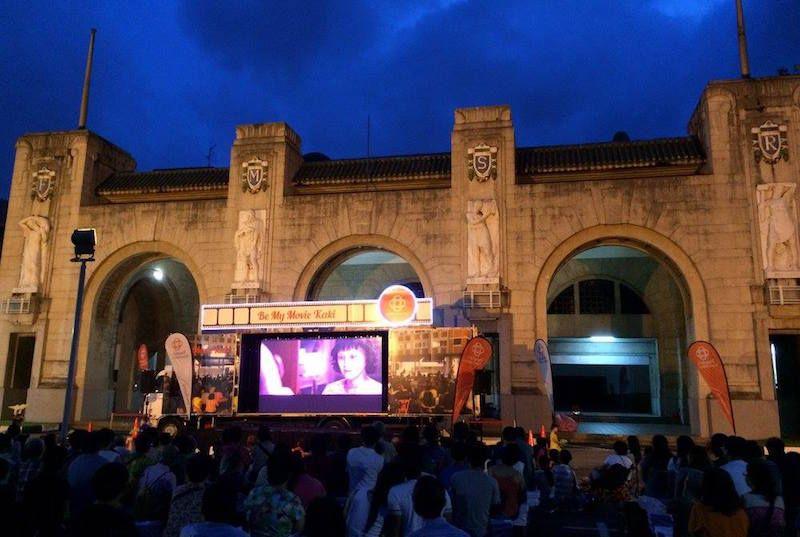 Best outdoor cinemas in singapore for movie date nights