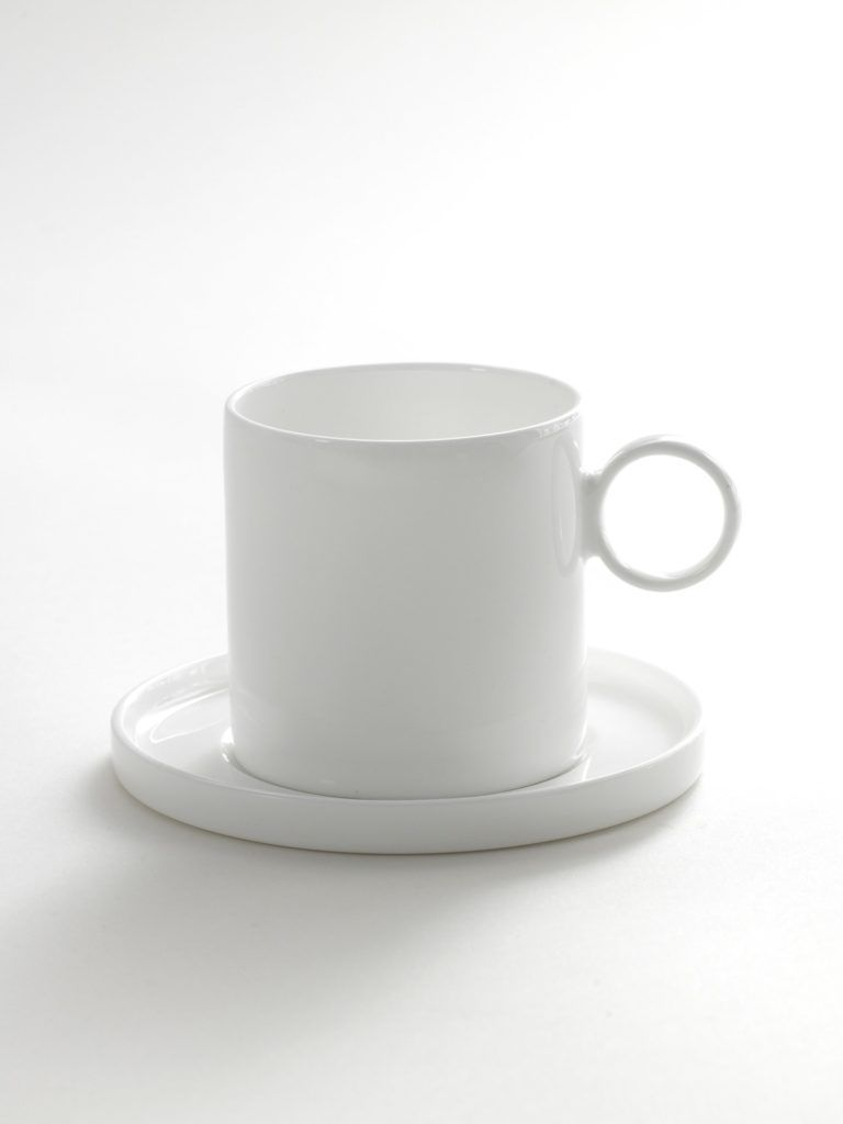 Small Coffee Cups And Saucers Small Coffee Cup And Saucer Set Of 2 By Ann Van Hoey For Serax
