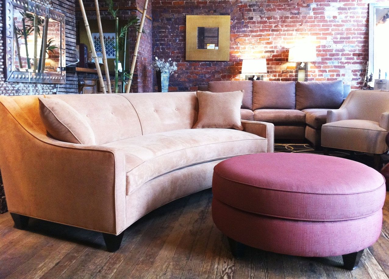 Curved Sectional Sofas For Small Spaces