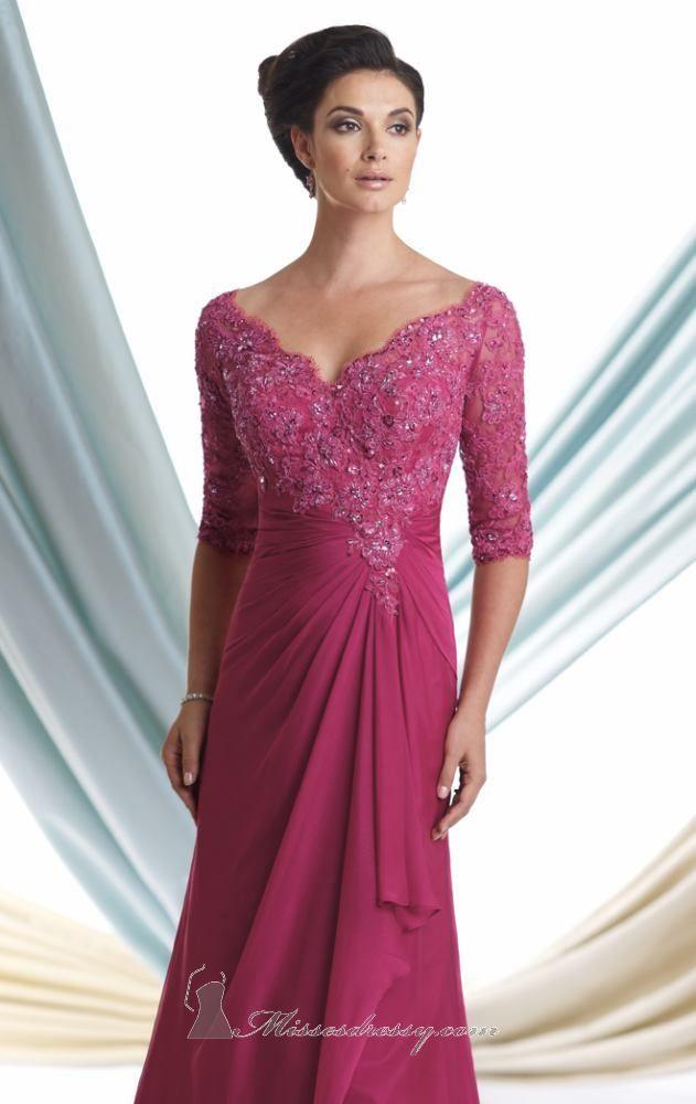 Chiffon Dress by Mon Cheri Montage | Pinterest | Vestidos finos ...