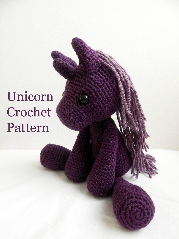 PATTERN: Crochet Unicorn Amigurumi Pattern by TheStitchTower on Etsy ...