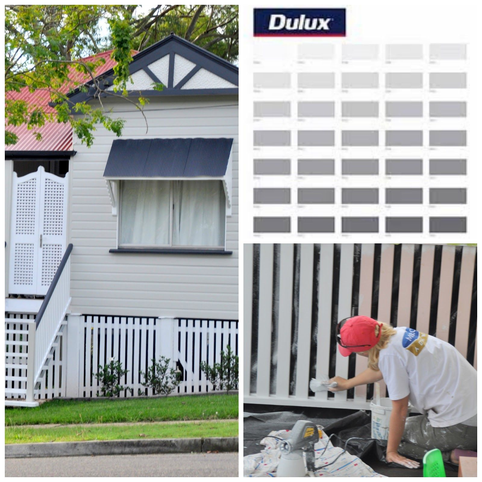 Dulux Lexicon And Antarctic Deep