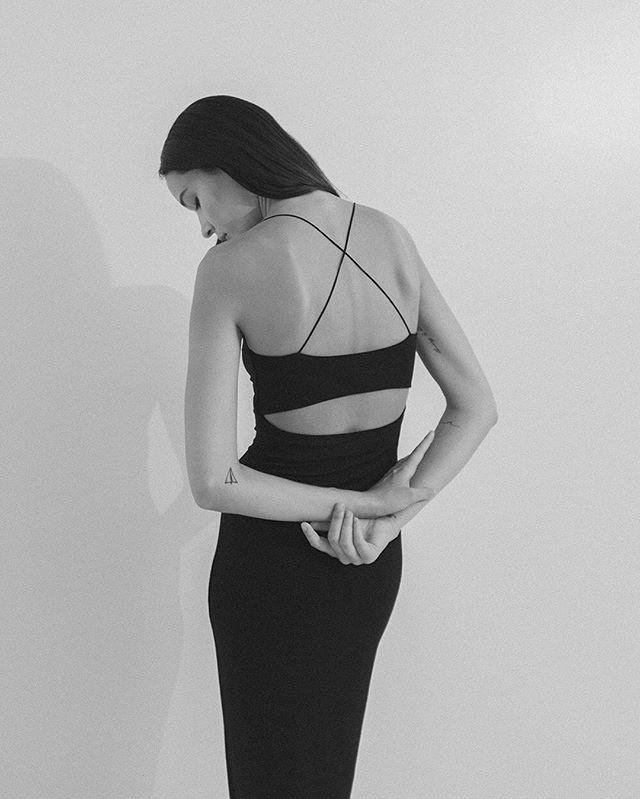 Welcoming T by Alexander Wang to The Dreslyn edit #dress #summer #cutouts…