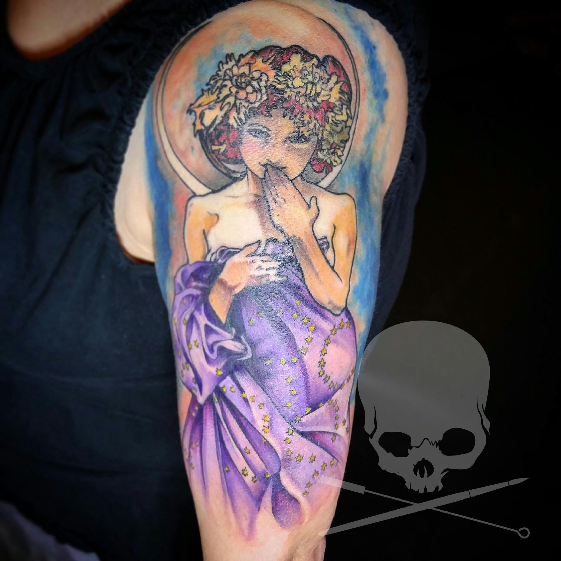 My Mucha Lovely By Jeff Hubbard Revolution Ink Pelham Al Mucha Ink Pelham