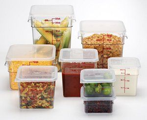 Cam 2sfscw135 Cambro 2sfscw135 Food Storage Container Square