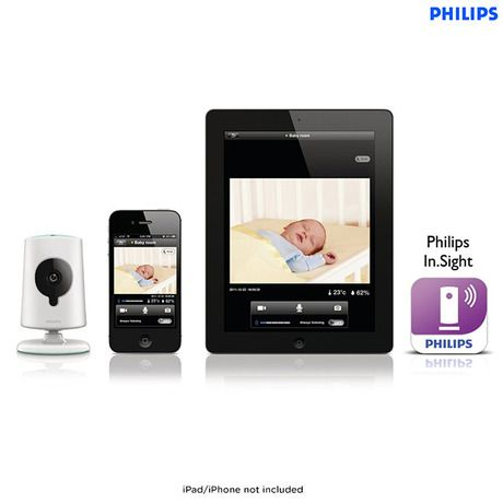 Philips In.Sight Wireless HD Baby Monitor for iPhone