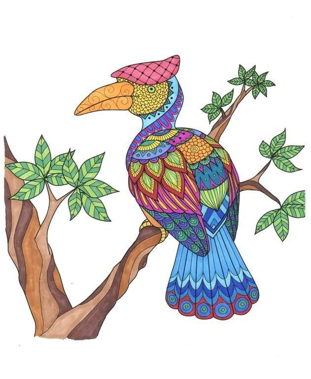 Amazing Animals for Adults Who Color - Live Your Life in Color ...