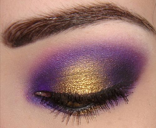 Royalty-purple and gold!