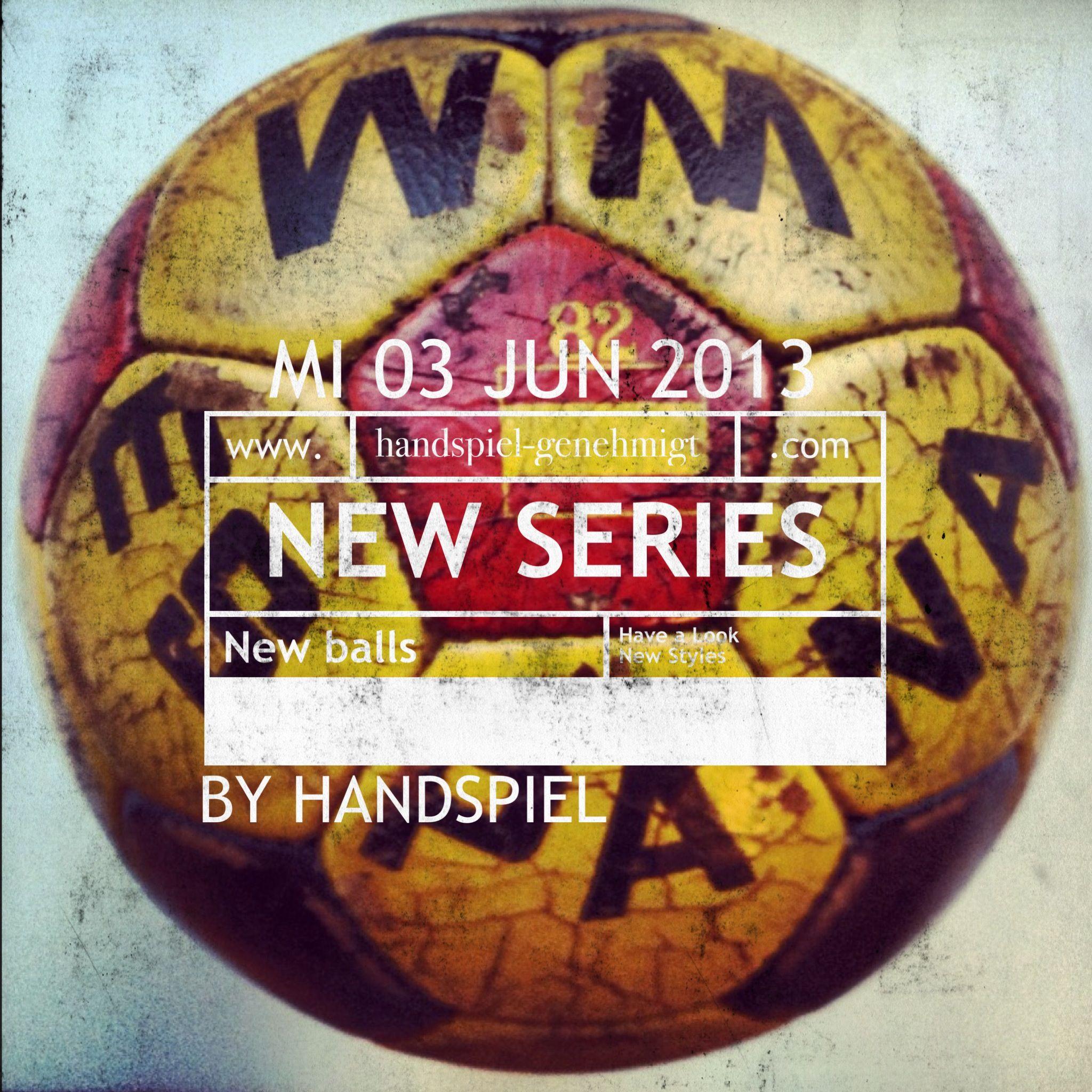 New Handspiel! Series coming up!!!  www.handspiel.co.uk www.handspiel-genehmigt.com